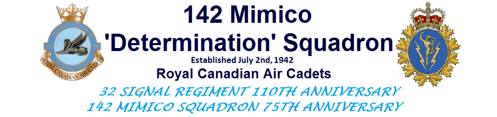 142 Mimico 'Determination' Squadron